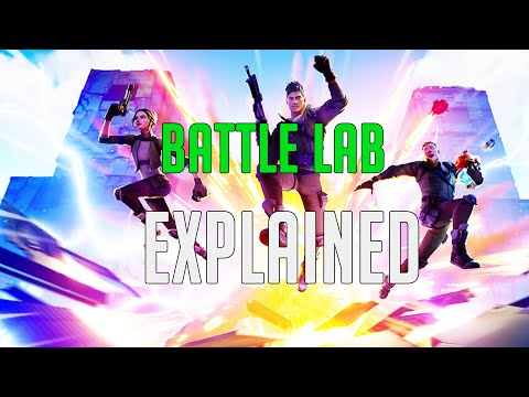 How To Use Battle Lab On Fortnite (battle Labs Explained) *New Gamemode*