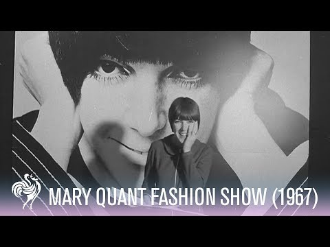 Fabulous Mary Quant Fashion Show in London (1967)
