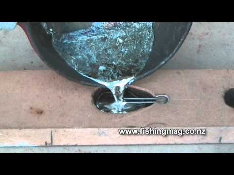 How To Make Lead Fishing Surfcasting Sinkers
