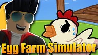 I have my farm for eggs! 😂   ROBLOX: Egg Farm Simulator