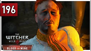 Of Sheers And A Witcher I Sing Let S Play The Witcher 3 Blind Part 196 Blood And Wine Gameplay