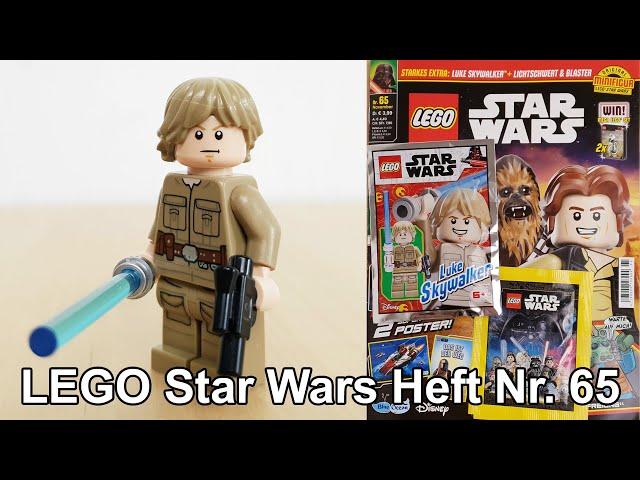 LEGO® Star Wars™ Heft Nr. 65 mit Luke Skywalker™ in Bespin Outfit