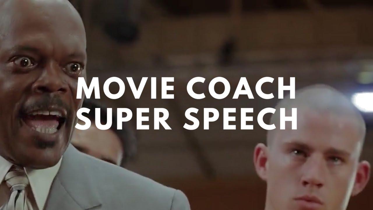 Movie Coach Super Speech
