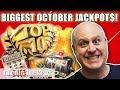 💥Top 10 HUGE Jackpots of October 2018 💥  The Big Jackpot