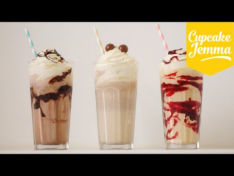 Download The Perfect Thick Milkshake PLUS 3 ways to PIMP it!  | Cupcake Jemma Pictures