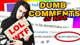 THE STUPIDEST COMMENTS on RIDE (dumb) Twenty One Pilots