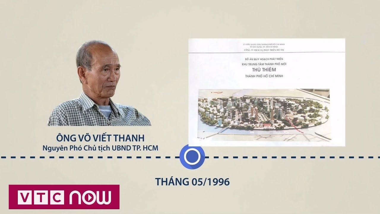 Toàn cảnh quy hoạch khu đô thị mới Thủ Thiêm | VTC1