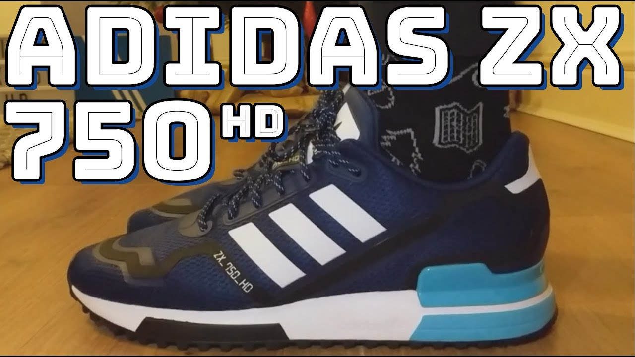 Tentación Casa Gimnasta  ADIDAS ZX 750 HD REVIEW - On feet, comfort, weight, breathability and price  review - YouTube