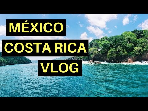 TRAVEL VLOG | MEXICO CITY + COSTA RICA | Melon Madness