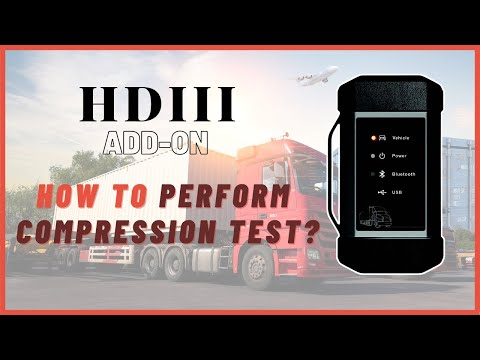 【Launch HDIII Heavy Duty Module】How to Perform Compression Test? International/MAXXFORCE