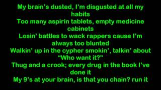Eminem - Weed Lacer  Lyrics [HQ/HD]