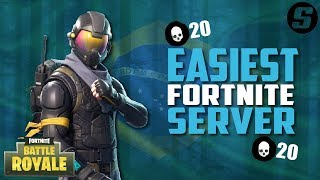 Fortnite Easiest Server To Get Wins - How To Get More Wins In Fortnite! (Brazil Servers)