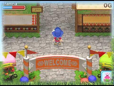 Harvest Moon: Grand Bazaar - Nintendo DS - YouTube