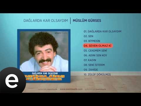 Seven Olmaz Ki (Müslüm Gürses) Official Audio #sevenolmazki #müslümgürses