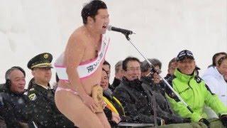 今日から旭川冬まつりが開催され、「安心してください」で有名な旭川出...