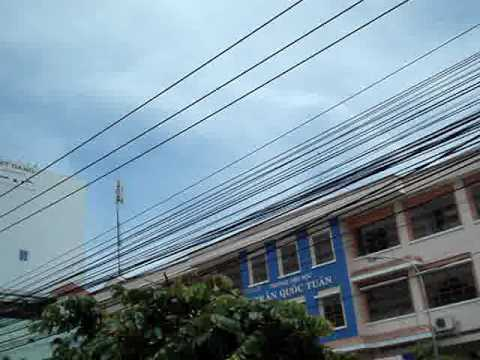 Electrical wiring, Saigon, Vietnam