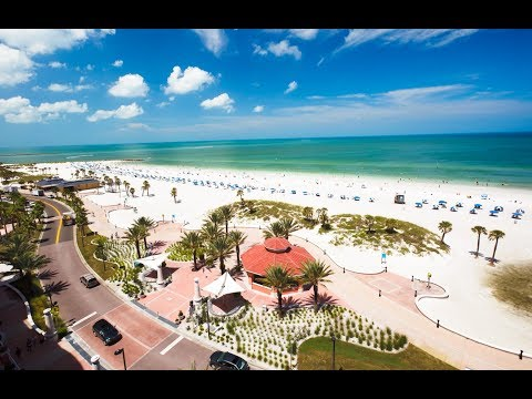 Clearwater, Florida, DJI Phantom 3 Drone 2017 4K