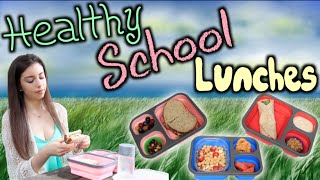 3 Healthy, Easy, & Yummy Lunch Ideas for School! Thumbnail