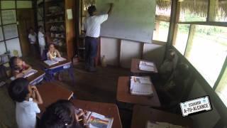 EATA 103. Napo. Parque Nacional Yasuní. Comunidad Kichwa de Añangu Parte 2