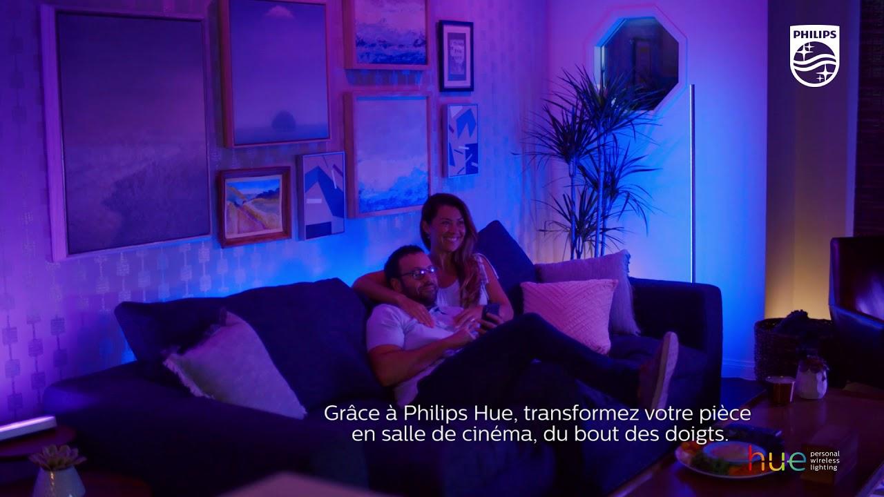 Starten Philips Hue : Transformez vos soirées ciné avec philips hue youtube