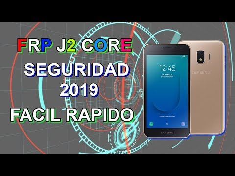 How To Unlock FRP Samsung Galaxy J2 Core SM J260F With Odin