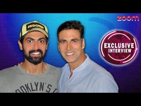 Akshay Kumar & Rana Duggubatti Exclusive Interview - zoom