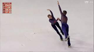 Ana Walgode Pedro Walgode - Free Dance - senior couple dance - world roller games Barcelona 2019