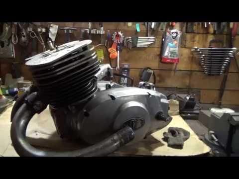 Необычный двигатель из металлоприёмки #2