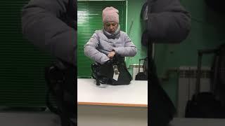 Обзор Сумка мешок уличный стиль женская сумка темно зеленая