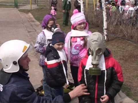 Учение по противопожарной безопасности в детском саду №49