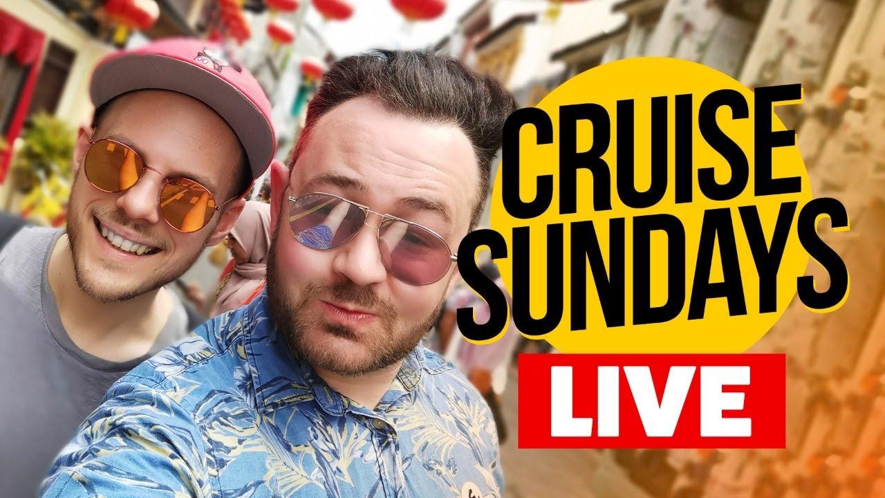 CRUISE SUNDAYS LIVE: Cruise News, Trivia and Q&A.