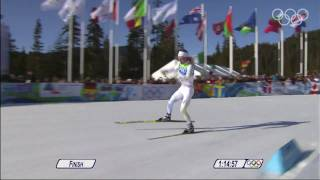 Hellner - Cross Country Skiing - Men's 30KM Pursuit - Vancouver 2010 Winter Olympic Games
