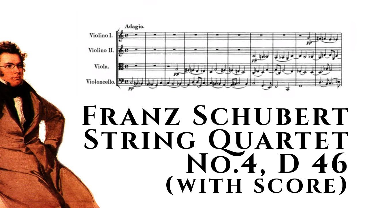 Download PDF String Quartet No  4 C Major D46 - Viola