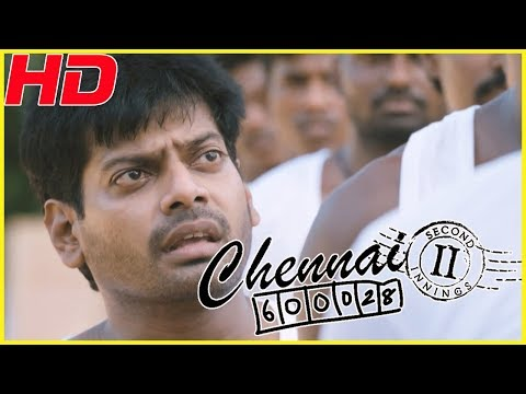 Chennai 600028 II full movie comedy scenes | Mirchi Shiva co