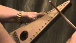"PSSRR:Roosebeck Psaltery, Soprano, Right-Handed-""Joy to the World"""