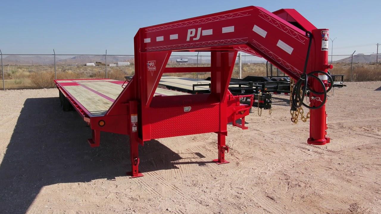 Red Barn Trailers - PJ-Lamar-GR-Haulmark   Trailers in El