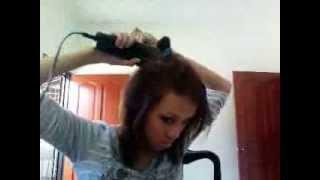 sideswept straight hair Thumbnail