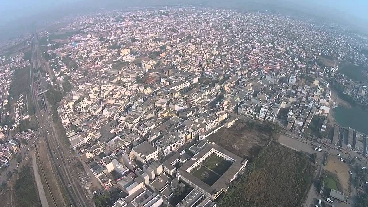 Ambala City Arial View Youtube