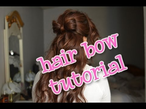 valentine's day hair tutorial curly
