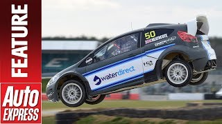 We Drive Ford'S Fiesta Rx2 Rallycross Car On Silverstone'S New World Rx Track