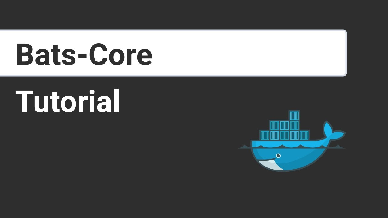 How to Test Docker Images and Shell Scripts (with bats-core)