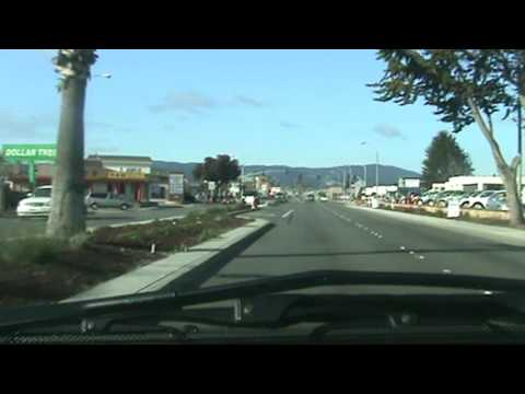 Driving Through Seaside, California