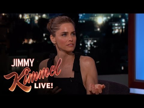 Amanda Peet on New Show Brockmire