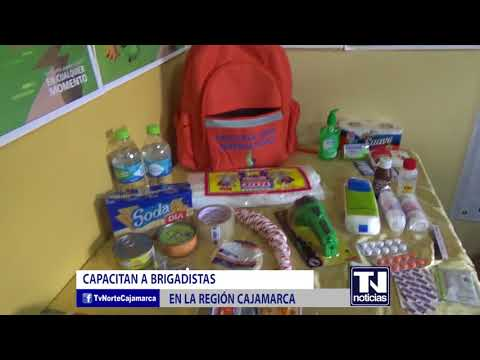 CAPACITAN A BRIGADISTAS EN LA REGION CAJAMARCA OKITAS
