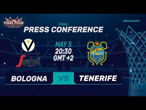 Segafredo Virtus Bologna v Iberostar Tenerife - Press Conf. - Basketball Champions League 2018