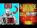 5 GRÜNDE warum DU in BO4 SCHLECHT bist! (bo4 tipps und tricks)