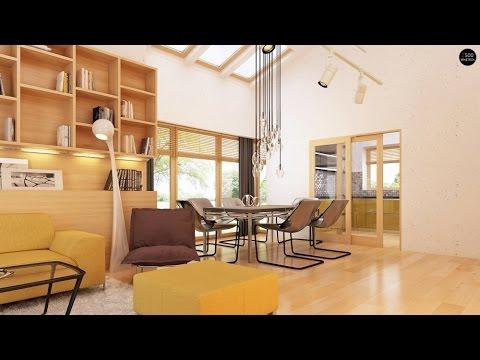 Дизайн одноэтажного дома 150 кв. м. Дом для средней семьи