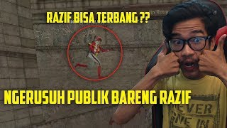 KEMBALI NYA RAZIF TEMAN DUET RUSUH PUBLIK (KONTEN NGERUSUH PUBLIK) !!! POINT BLANK GARENA INDONESIA