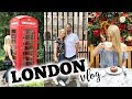 LONDON VLOG 2018 | BUCKINGHAM PALACE, SKETCH, BIG BEN & HARRODS!