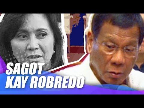 Duterte, hinamon si Robredo na ilabas ang kanyang drug war findings